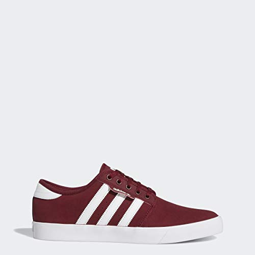 adidas Originals Men's Seeley Sneaker, Collegiate Burgundy/White/White