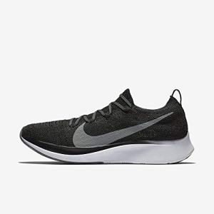 Nike Zoom Fly Flyknit Men's Running Shoe Black/Gunsmoke-White
