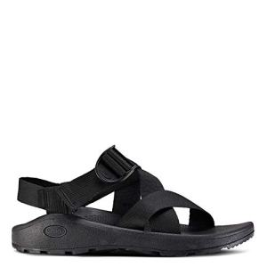 Chaco Men's MEGA Z Cloud Sport Sandal, Solid Black