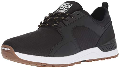 Etnies Men's Cyprus SCW X 32 Skate Shoe, Black/White/Gum