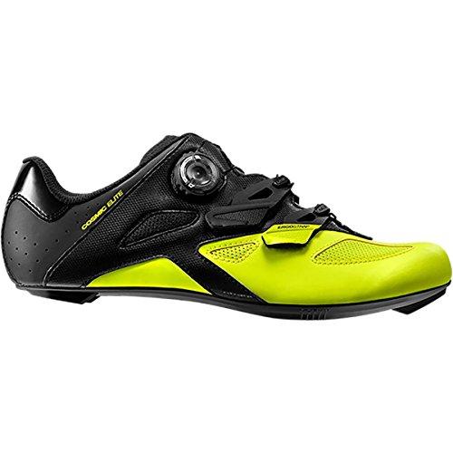 Mavic Cosmic Elite Cycling Shoe - Men's Black/Black/Safety Yellow