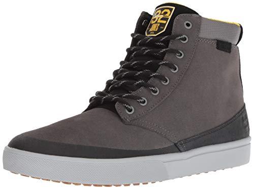 Etnies Men's Jameson Skate Shoe, Grey/Black/Yellow