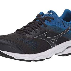 Mizuno Men's Wave Inspire 15 Running Shoe, Blue Graphite