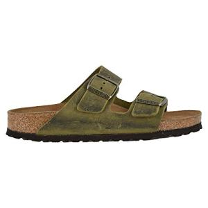 Birkenstock New Unisex Arizona SF Slide Sandal Jade