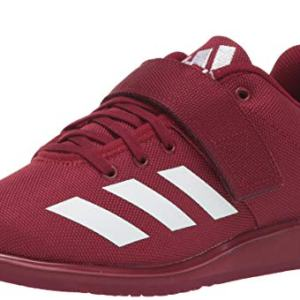 adidas Men's Powerlift Cross Trainer, Collegiate Burgundy/White/Collegiate