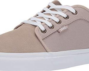 Vans Mens Chukka Low Skateboard Sneaker Humus/True White