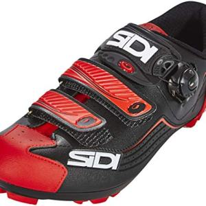 Sidi Trace Mountain Bike MTB Bicycle Shoes Black Red