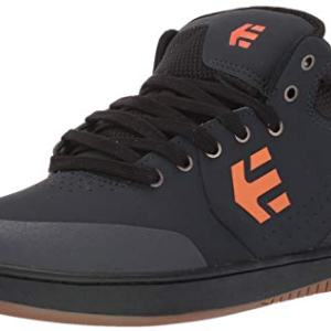 Etnies Men's Marana MID Crank Skate Shoe Navy/Orange