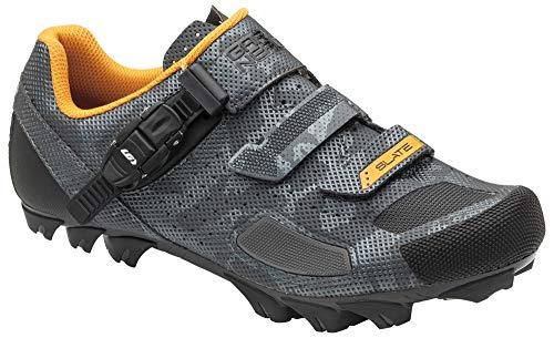 Louis Garneau Men's Slate 2 MTB Bike Shoes, Camo Charcoal