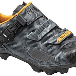 Louis Garneau Men's Slate 2 MTB Bike Shoes, Camo Charcoal