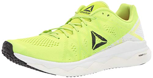 Reebok Men's Floatride Run Fast Shoe, neon Lime/White/Black/red