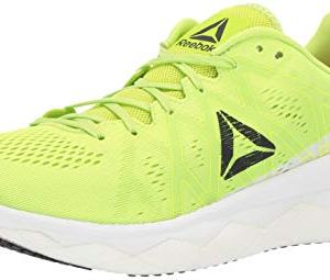 Reebok Men's Floatride Run Fast Shoe, neon Lime/White/Black/red
