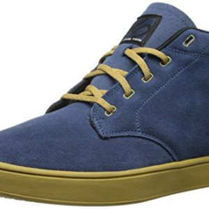 Five Ten Men's Dirtbag Mid Bike Shoe, Rich Blue/Khaki