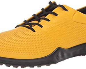 ECCO Men's S-Lite Golf Shoe, merigold Yak Leather