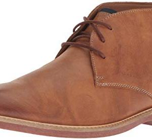 Clarks Men's Atticus Limit Chukka Boot, Tan Leather