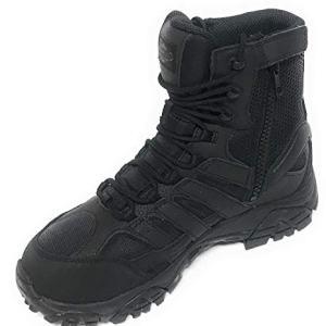 """Merrell Mens Moab 2 8"""" Tactical Wp, Color: Black"""