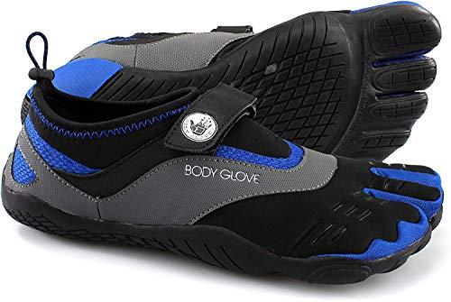 Body Glove Men's 3T Barefoot Max Water Shoe, Black/Dazzling Blue