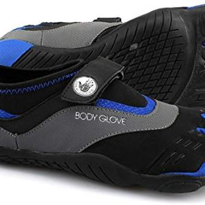 Body Glove Men's 3T Barefoot Max Water Shoe, Black/Dazzling Blue
