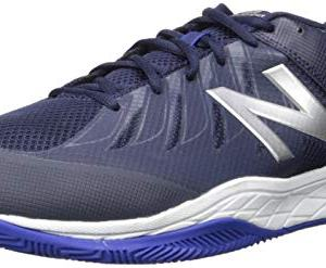 New Balance Men's Hard Court Tennis Shoe, Pigment/uv Blue