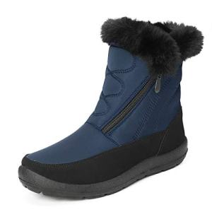 gracosy Snow Boots for Women Men, Warm Ankle Boots Waterproof Outdoor Slip