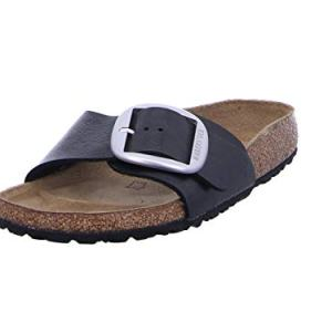 Birkenstock Women's Madrid Big Buckle Narrow Fit Sandal Graceful Licorice