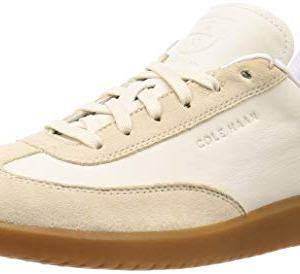 Cole Haan Men's Grandpro Turf Sneaker, Ivory Tumbled/Pumice Stone Suede