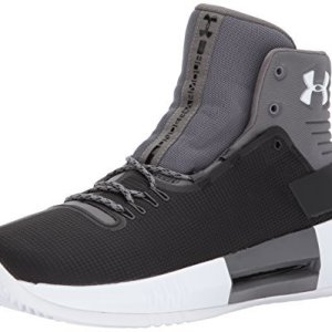 Under Armour Men's Team Drive 4 Basketball Shoe, Black