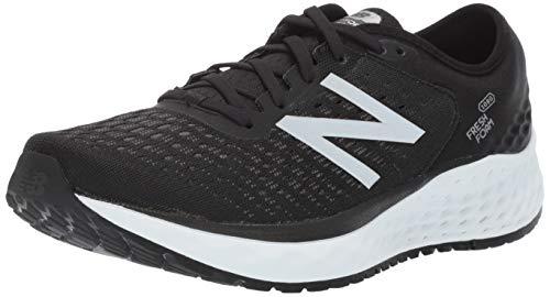 New Balance Men's Fresh Foam Running Shoe, Black/White