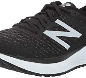 New Balance Men's Fresh Foam Running Shoe, Black/White
