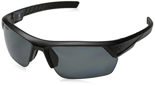 Under Armour Igniter 2.0 Sunglasses Storm ANSI Satin Black / Grey Polarized