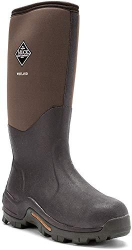 Muck Wetland Rubber Premium Men's Field Boots,Bark,Men's