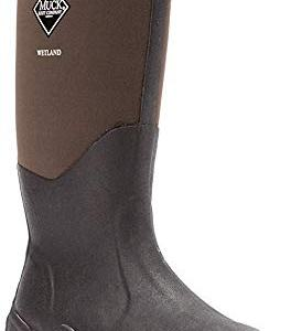 Muck Wetland Rubber Premium Men's Field Boots,Bark,Men's