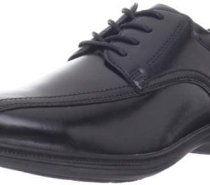Nunn Bush Men's Bartole Street Bicycle Toe Oxford Lace Up with KORE Slip Resistant