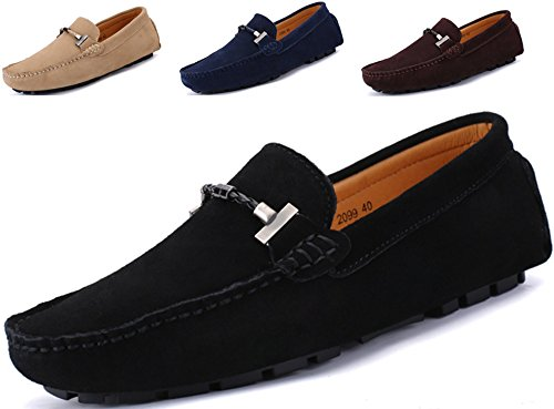 Go Tour New Mens Casual Loafers Moccasins Slip On Driving Shoes