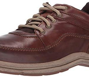 Rockport Men's World Tour Classic Walking Shoe, Brown Leather