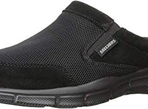 Skechers Sport Men's Equalizer Coast to Coast Mule, Black, 11.5 Wide