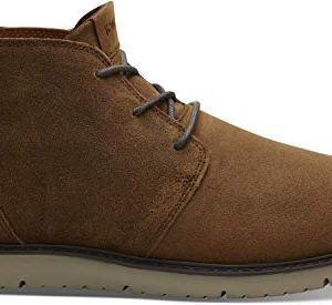 TOMS Navi Boot - Men's Brown Distressed Leather