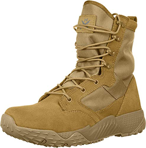 Under Armour Men's Jungle Rat Military and Tactical Boot, Coyote Brown