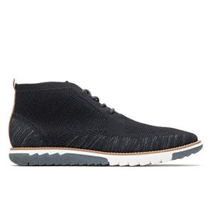 Hush Puppies Men's Expert Chukka Knit Boot, Black Multi