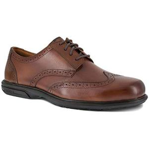 Florsheim Men's Loedin Dress Wing Tip Steel Toe Work Shoe