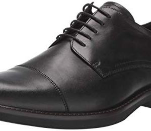 ECCO Men's Biarritz Cap Toe Oxford, Black