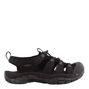 KEEN Men's Newport H2 Water Shoe, Black/Swirl Outsole