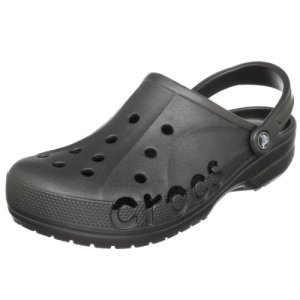 Crocs Mens and Womens Baya Clog, Graphite