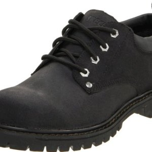 Skechers USA Men's Alley Cat Utility Oxford,Black