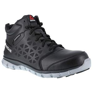 Reebok Work Sublite Cushion Work Mid Comp Toe EH Black/Grey
