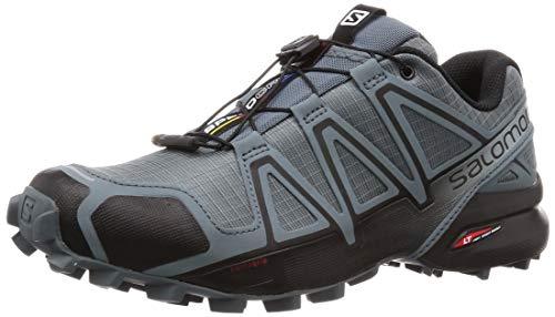 Salomon Men's Speedcross 4 Trail Running Shoes, Stormy Weather/Black/Stormy