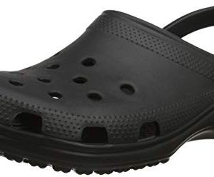 Crocs Classic Clog|Comfortable Slip On Casual Water Shoe, Black