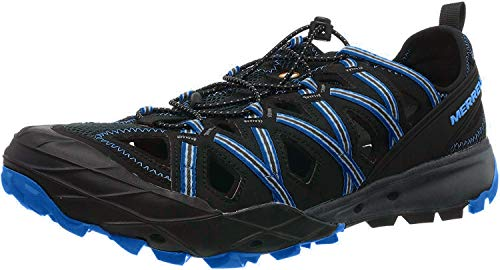 Merrell Choprock Shandal Hiking Shoe - Men's Granite/Blue