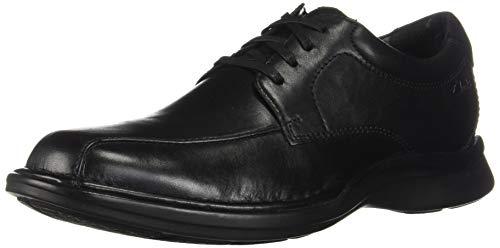 Clarks Men's Kempton Run Oxford, Black Leather