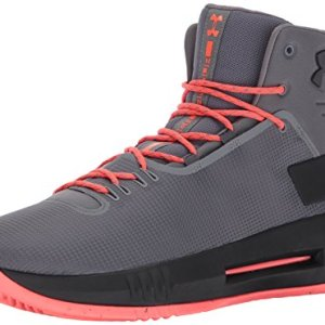 Under Armour Men's Drive 4 Basketball Shoe, Graphite